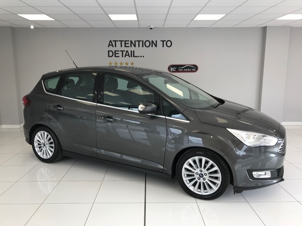 used Ford C-Max TITANIUM TDCI DIESEL, SATNAV, NEW SHAPE, HIGHER SEATING POSITION in louth-lincolnshire