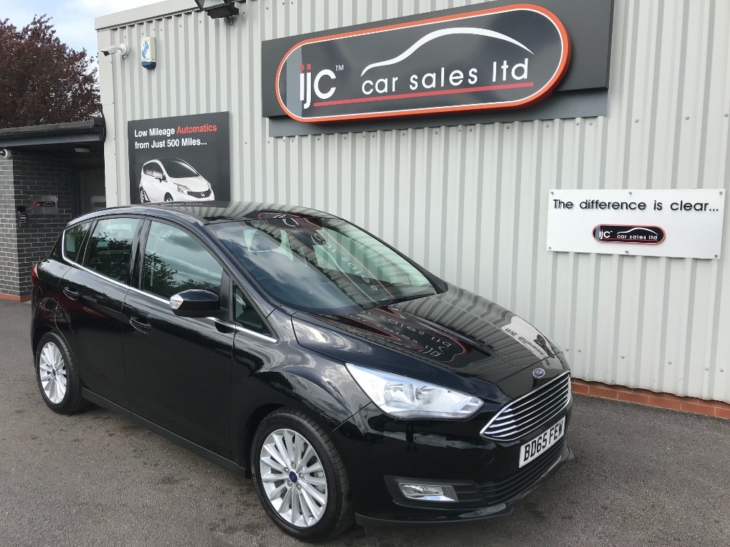 used Ford C-Max TITANIUM TDCI in louth-lincolnshire