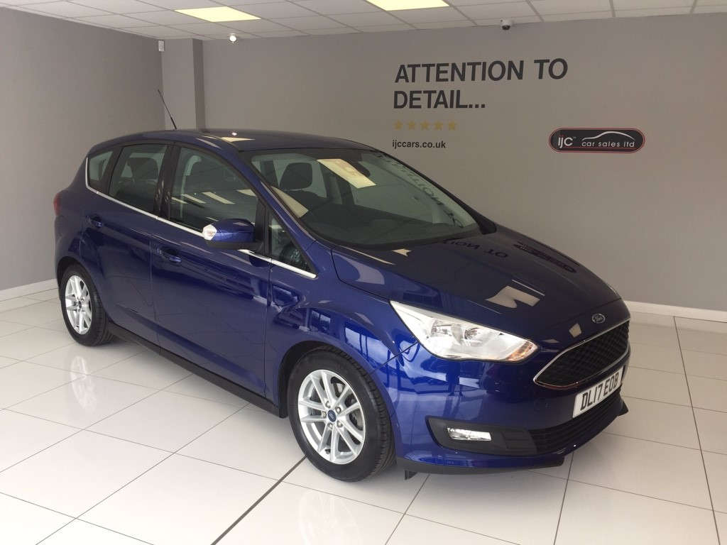 used Ford C-Max ZETEC 1.5TDCI MANUAL in louth-lincolnshire