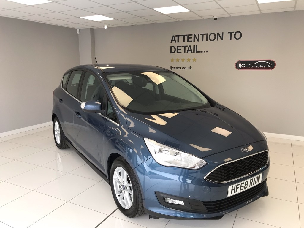used Ford C-Max 1.5 TDCI ZETEC, SAT NAV in louth-lincolnshire