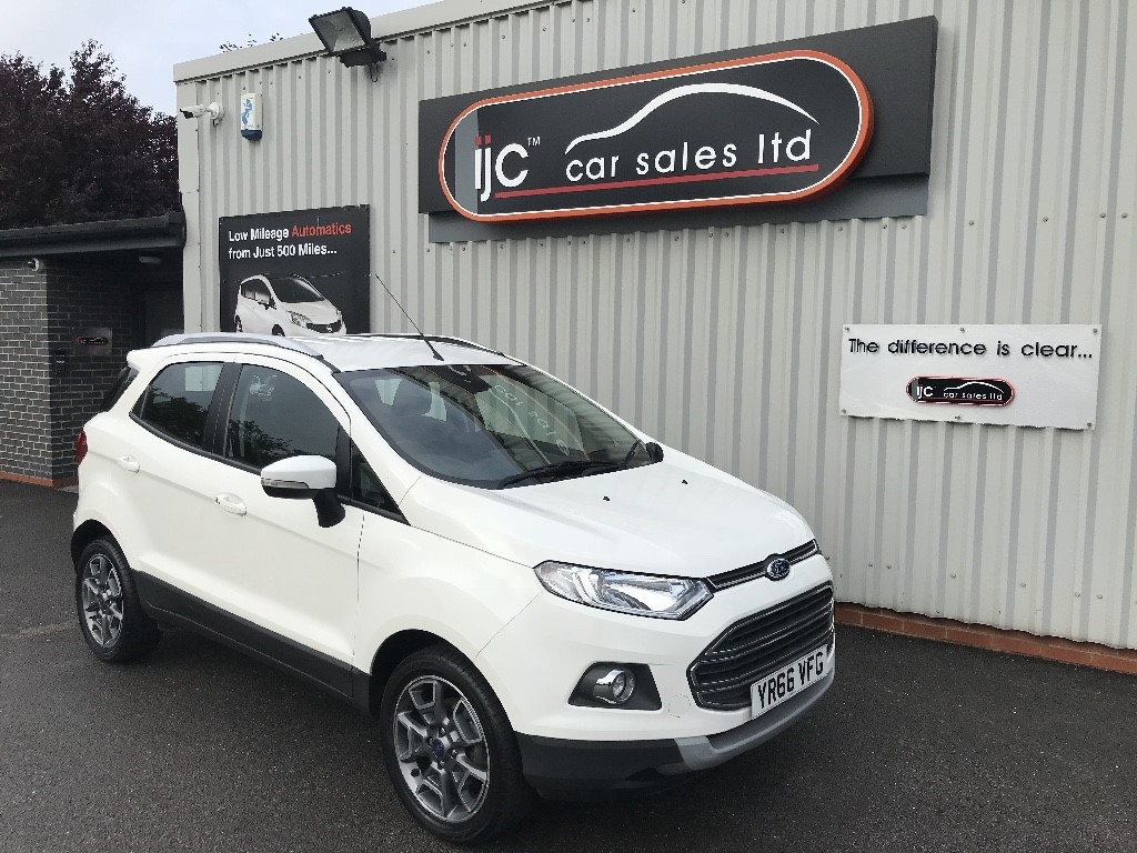 used Ford EcoSport TITANIUM TDCI in louth-lincolnshire