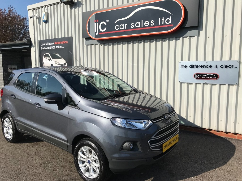 used Ford EcoSport ZETEC in louth-lincolnshire