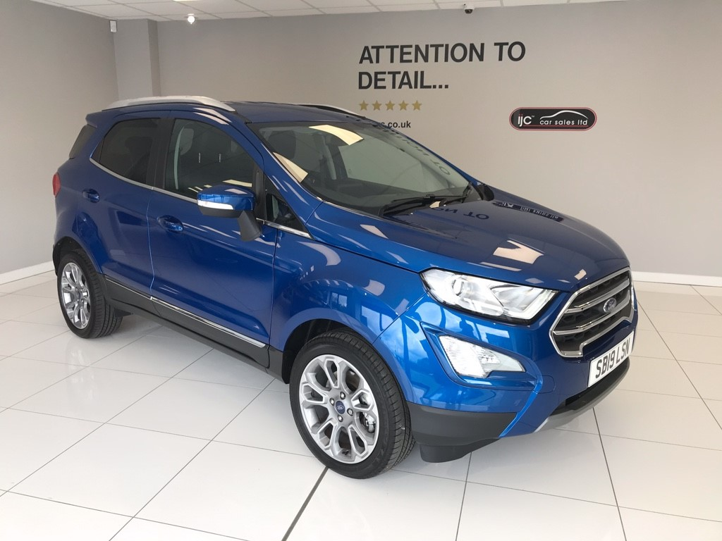 used Ford EcoSport TITANIUM WITH JUST 910 MILES!! PETROL AUTOMATIC SAVING �1000�S FROM NEW!! in louth-lincolnshire