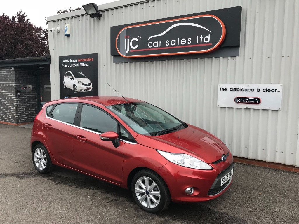 used Ford Fiesta ZETEC in louth-lincolnshire