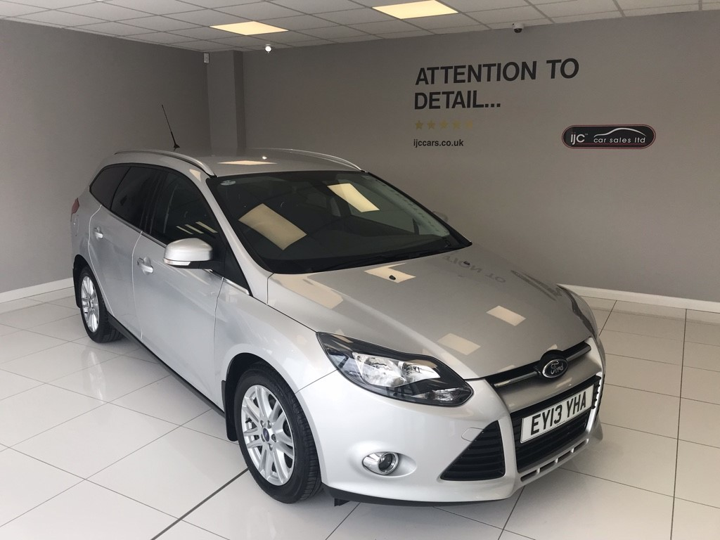 used Ford Focus TITANIUM ECONETIC TDCI in louth-lincolnshire