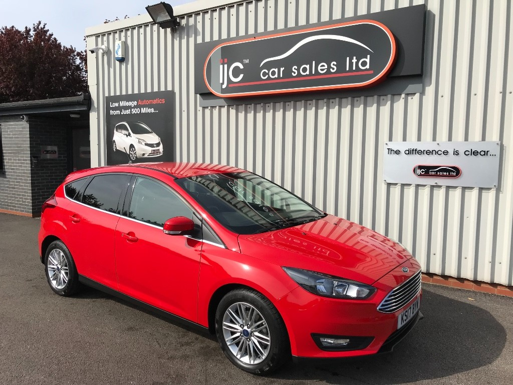 used Ford Focus ZETEC EDITION TDCI in louth-lincolnshire