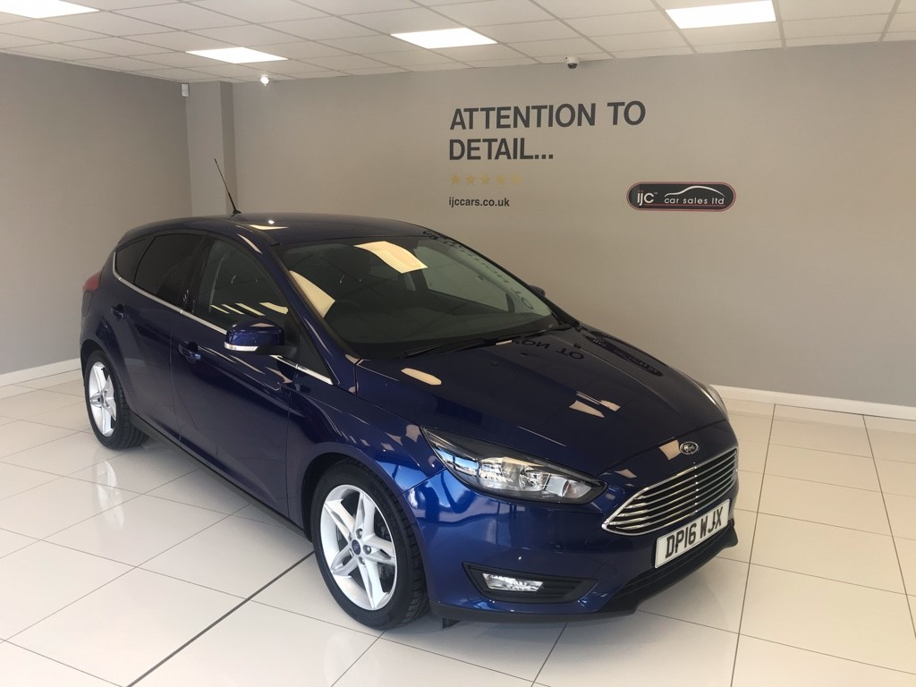 used Ford Focus 1.0 ECOBOOST ZETEC AUTOMATIC, JUST 14,990 MILES!! in louth-lincolnshire