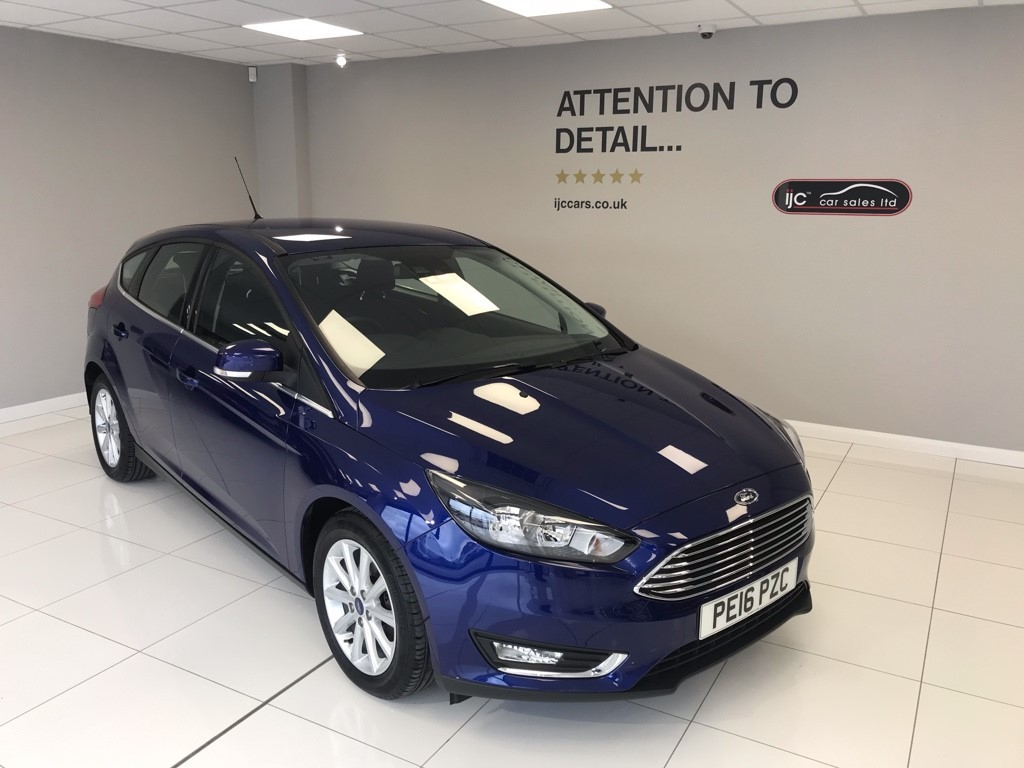 used Ford Focus 1.6 PETROL AUTOMATIC TITANIUM NAV in louth-lincolnshire