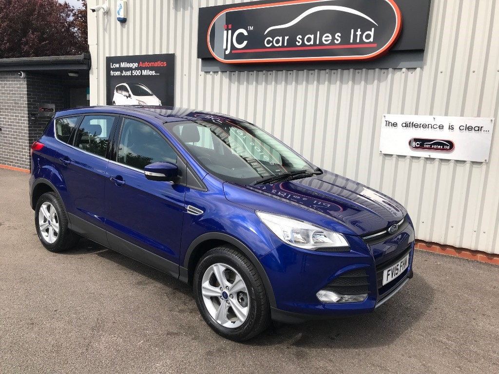 used Ford Kuga ZETEC TDCI in louth-lincolnshire