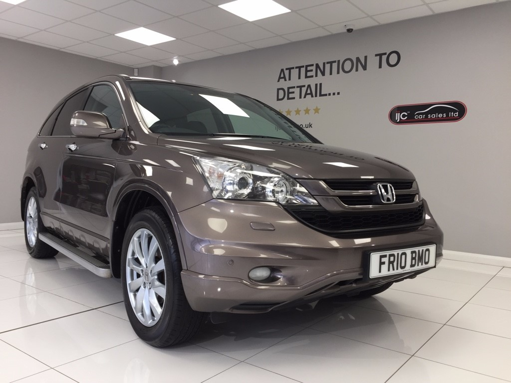used Honda CR-V 2L AUTOMATIC I-VTEC EX top spec in louth-lincolnshire
