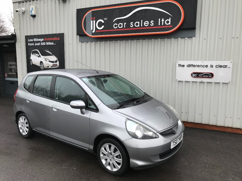used Honda Jazz 2007 DSI SE PETROL AUTOMATIC in louth-lincolnshire