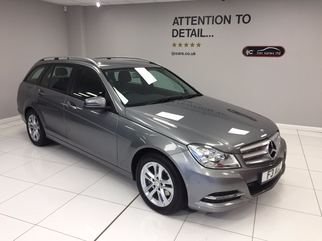 used Mercedes C220 SAT NAV, FULL LEATHER , AUTO ESTATE CDI EXECUTIVE SE in louth-lincolnshire