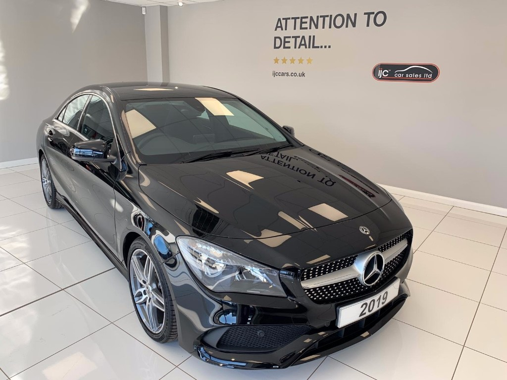 used Mercedes CLA200 CLA 200 AMG LINE EDITION AUTO JUST 19 MILES!! ITS THE ONLY 1 IN THE UK! in louth-lincolnshire