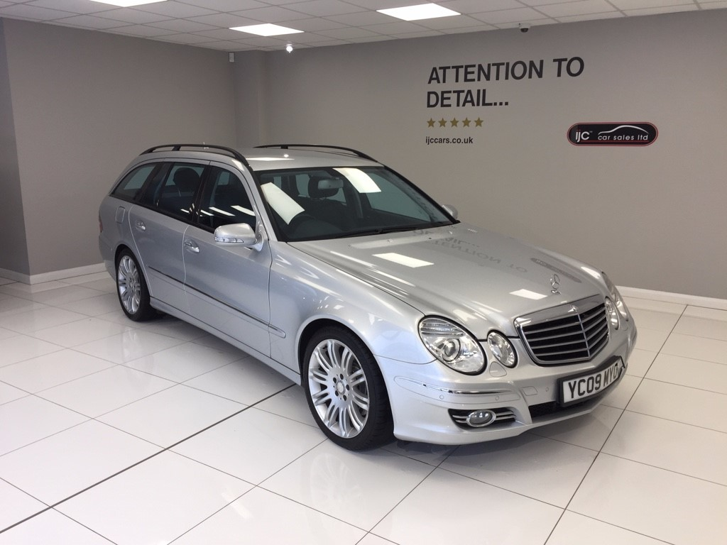 used Mercedes E320 CDI SPORT automatic full leather seats sat nav in louth-lincolnshire