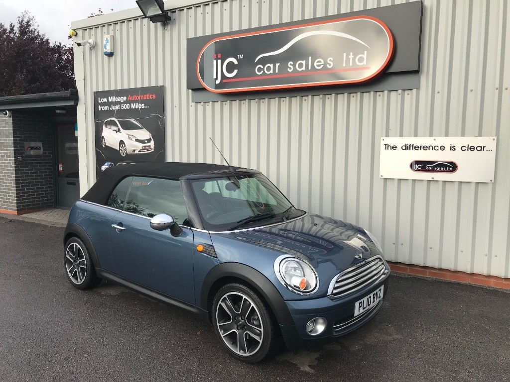 used MINI Convertible ONE in louth-lincolnshire