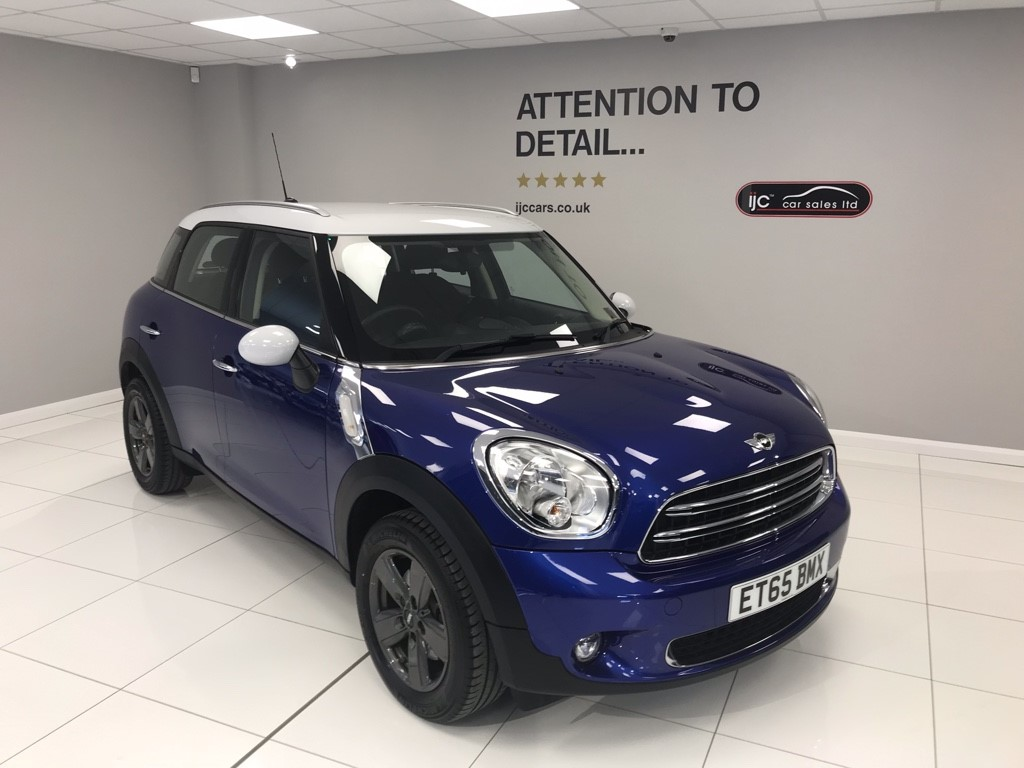 used MINI Countryman COOPER 1.6 PETROL AUTOMATIC in louth-lincolnshire