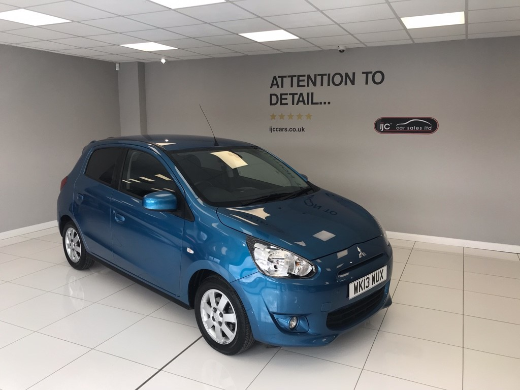 used Mitsubishi Mirage 1.2 PETROL AUTOMATIC 3 in louth-lincolnshire