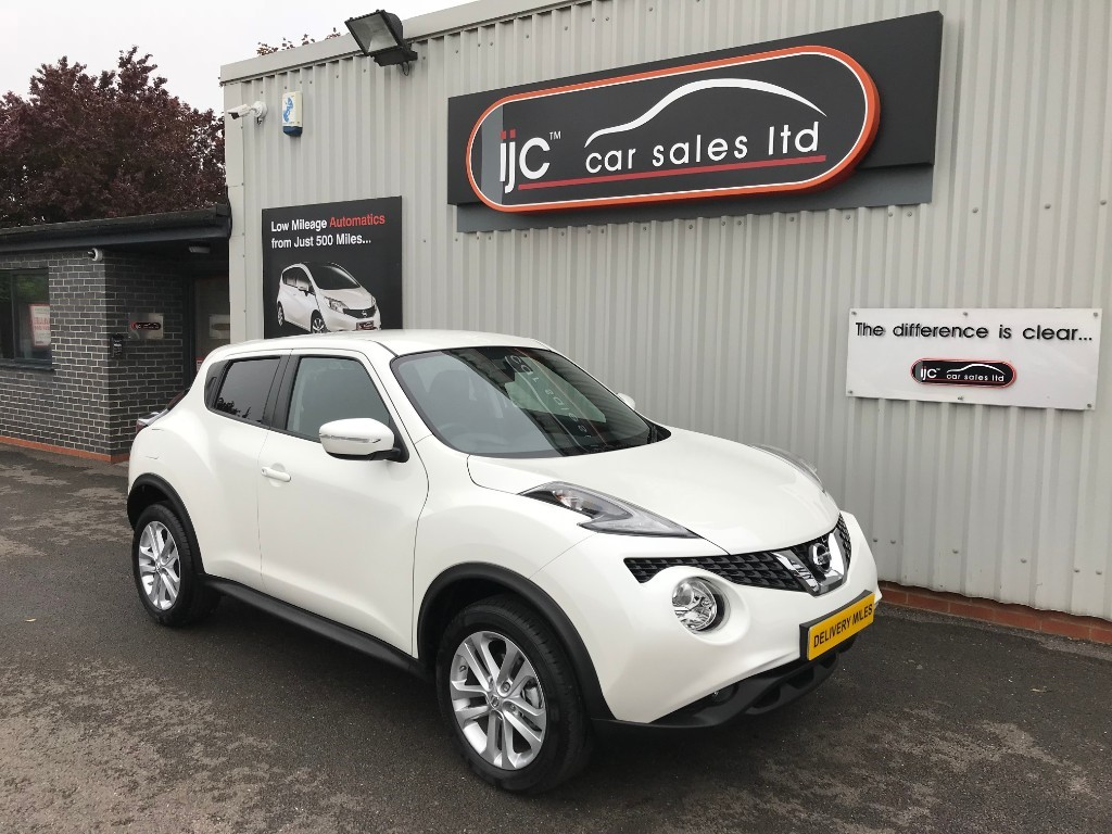 used Nissan Juke ACENTA XTRONIC in louth-lincolnshire