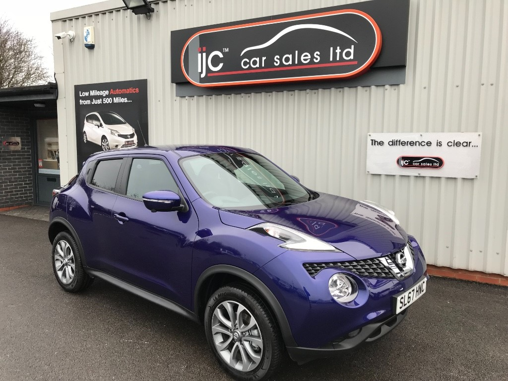 used Nissan Juke 2017 (67) TEKNA 1.5 DCI in louth-lincolnshire