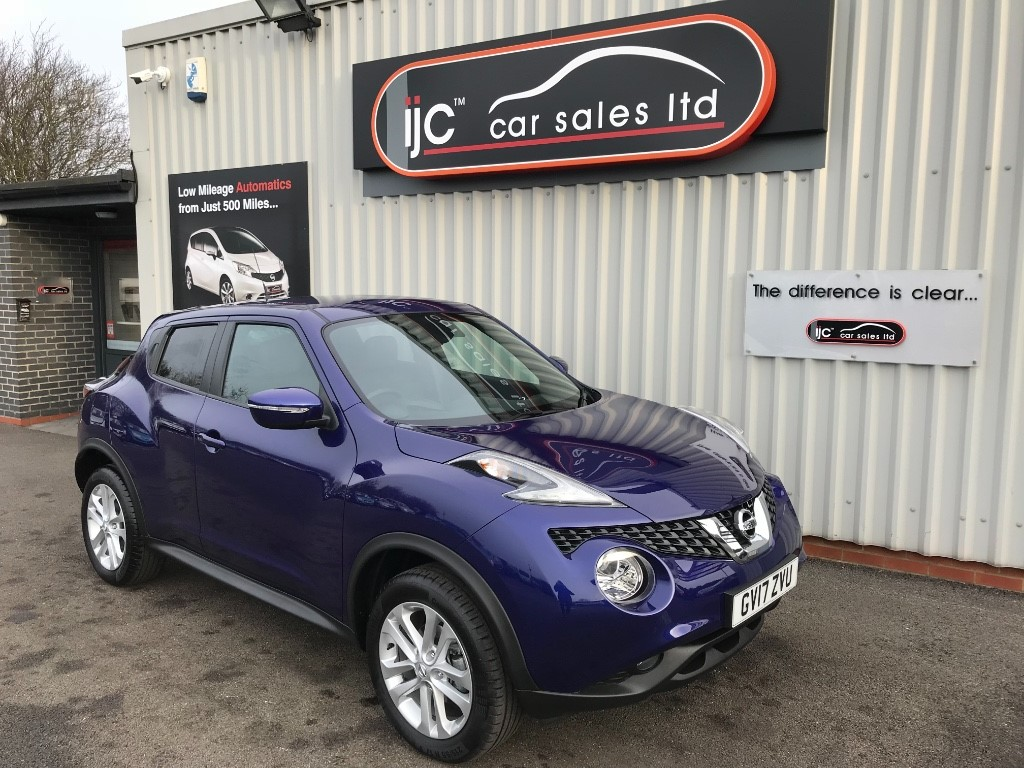 used Nissan Juke 2017 (17) 1.6 PETROL N-CONNECTA XTRONIC in louth-lincolnshire