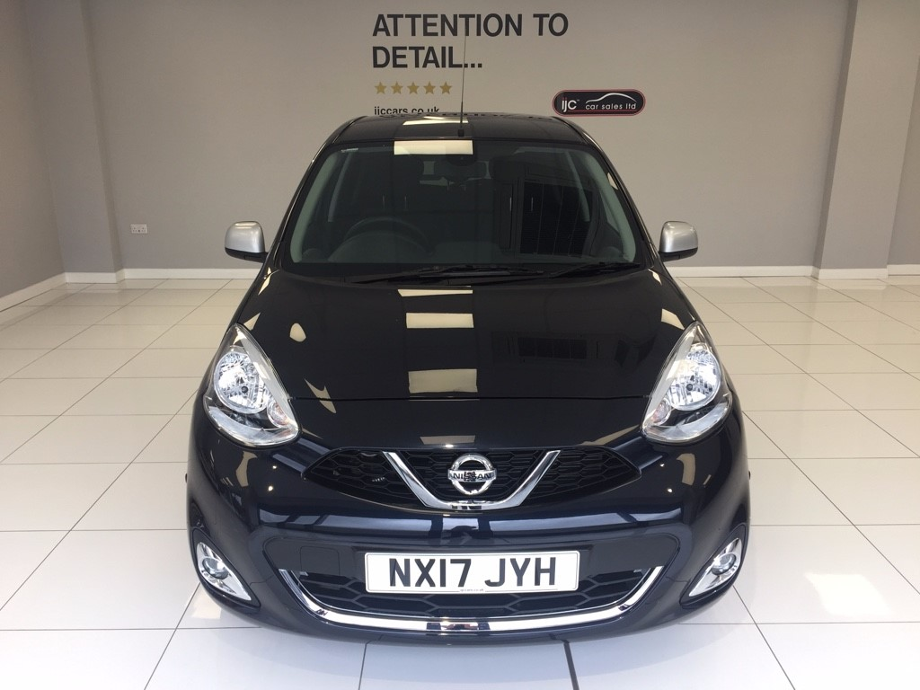 used Nissan Micra 1.2 PETROL AUTOMATIC N-TEC SAT NAV, JUST 2,719 MILES! SAVE �1300! in louth-lincolnshire