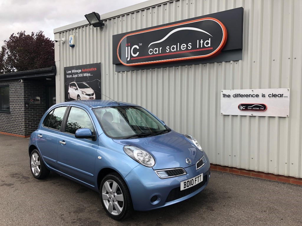 used Nissan Micra ACENTA 1.2 PETROL AUTO in louth-lincolnshire