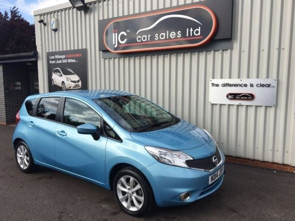 used Nissan Note 2014 (14) DIG-S Acenta Premium (Style Pack) in louth-lincolnshire