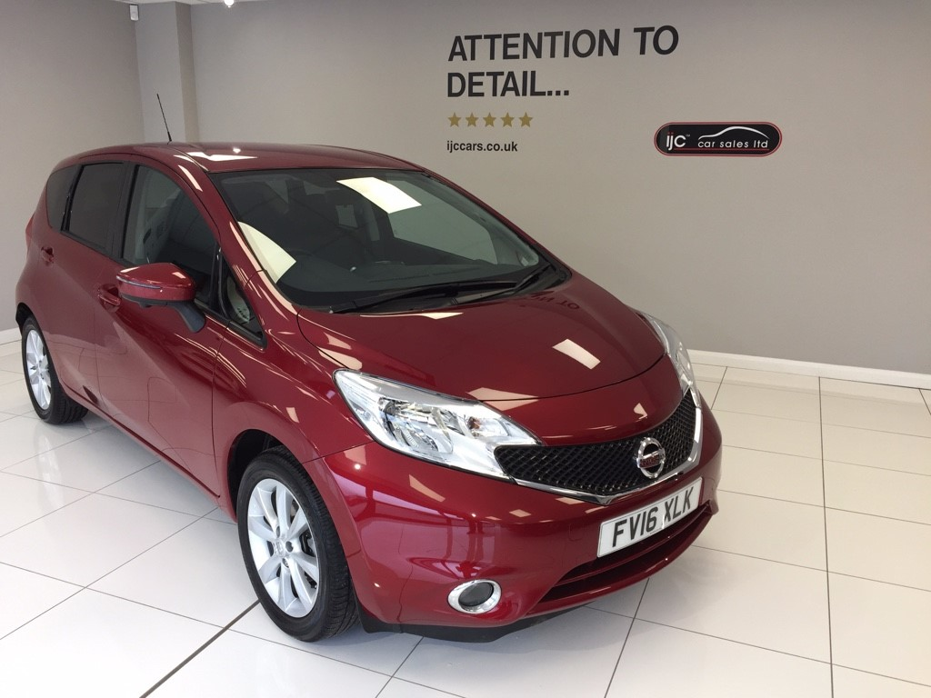 used Nissan Note TEKNA DIG-S PETROL AUTOMATIC WITH SATNAV AND TOP SPEC in louth-lincolnshire