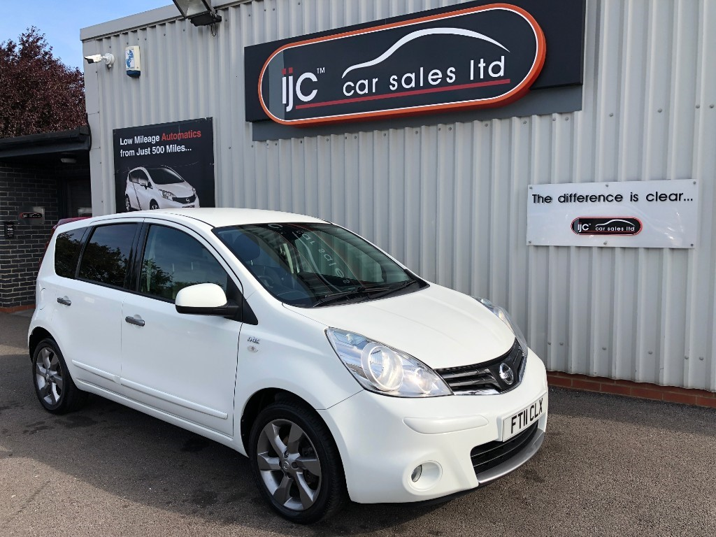 used Nissan Note DCI N-TEC in louth-lincolnshire
