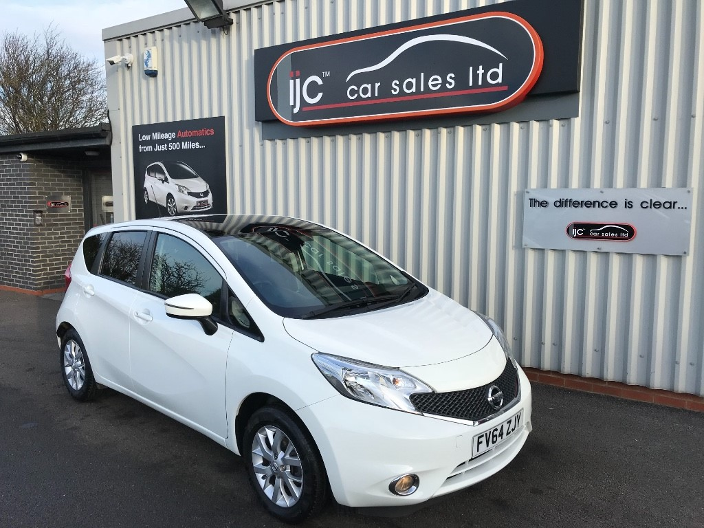 used Nissan Note 2015 (64) ACENTA PREMIUM COMFORT in louth-lincolnshire