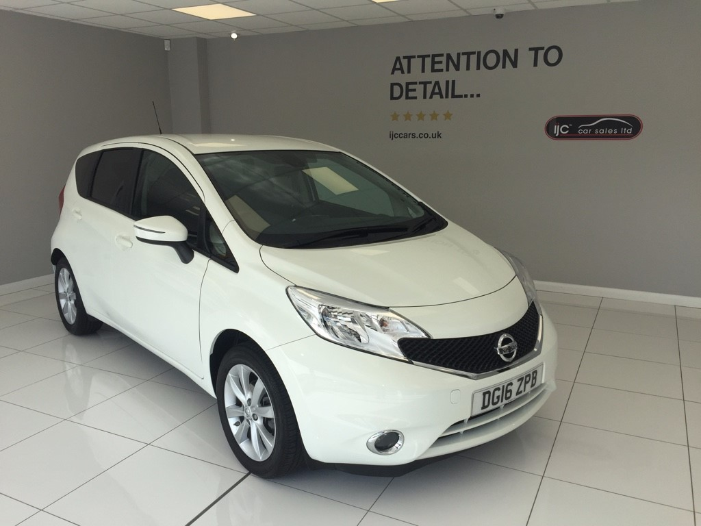 used Nissan Note ACENTA PREMIUM DIG-S in louth-lincolnshire