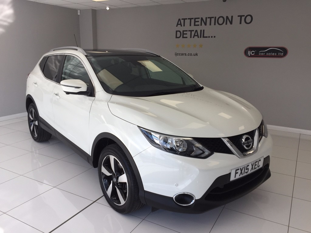 used Nissan Qashqai DCI N-TEC PLUS in louth-lincolnshire
