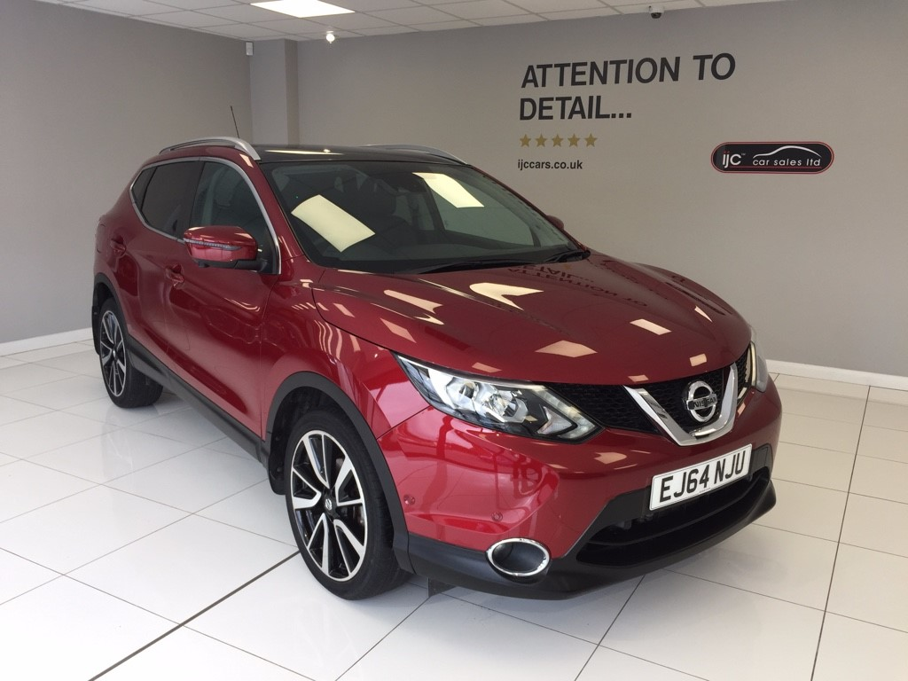 used Nissan Qashqai DCI TEKNA in louth-lincolnshire