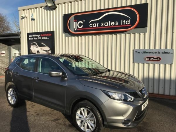 used Nissan Qashqai 2017 (17) DIG-T Acenta (Smart Vision Pack) in louth-lincolnshire
