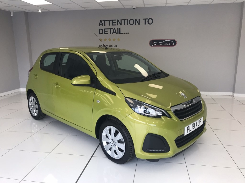 used Peugeot 108 ACTIVE 2019 MODEL WITH JUST 343 MILES!! PETROL MANUAL in louth-lincolnshire