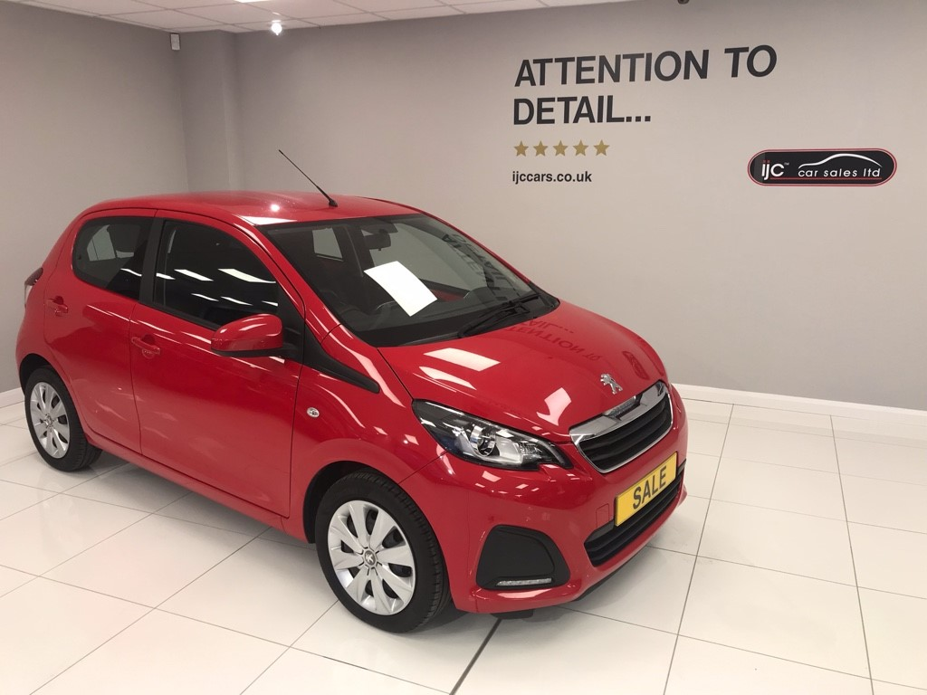 used Peugeot 108 ACTIVE 1.0 PETROL AUTOMATIC in louth-lincolnshire