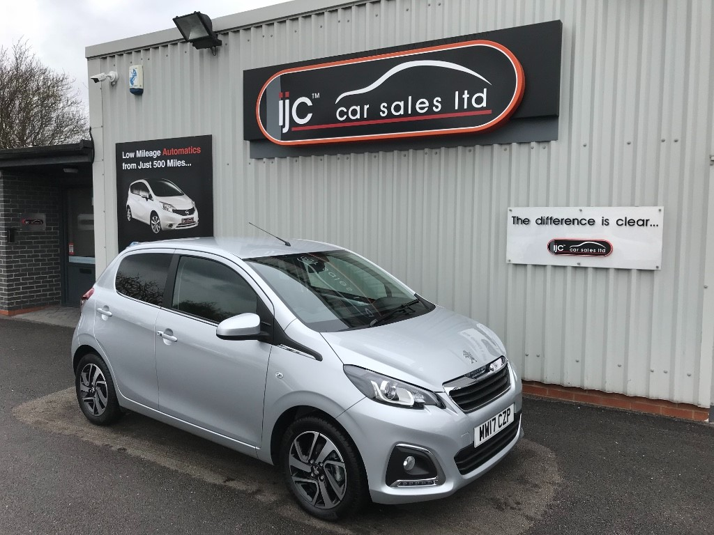 used Peugeot 108 ALLURE in louth-lincolnshire