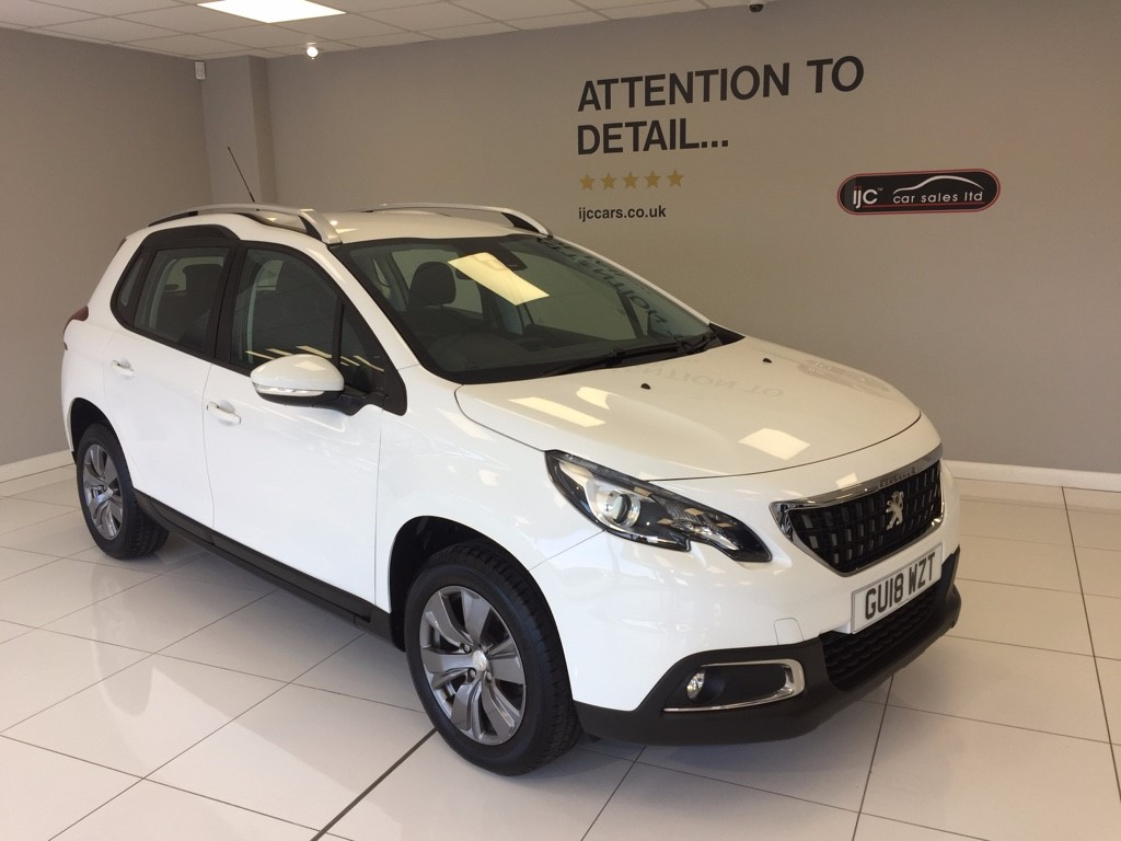 used Peugeot 2008 BLUE HDI ACTIVE, JUST 2188 MILES! in louth-lincolnshire