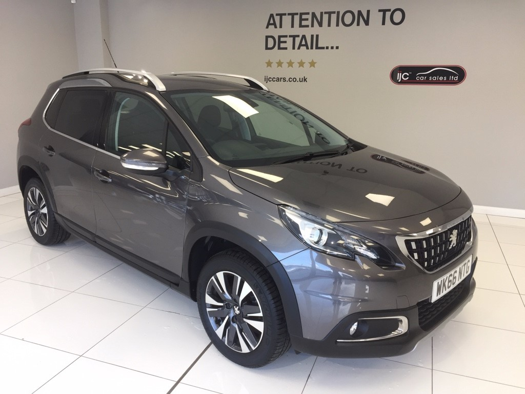 used Peugeot 2008 S/S ALLURE �20 TAX automatic in louth-lincolnshire