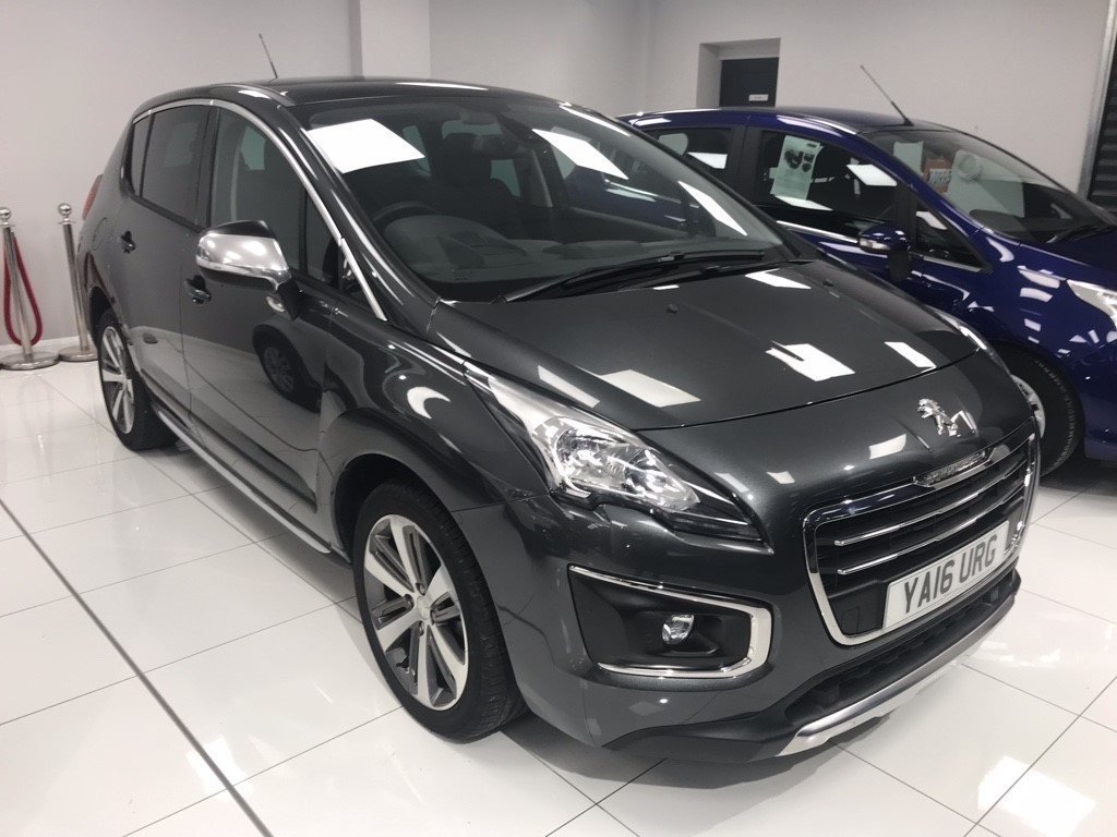 used Peugeot 3008 1.6 DIESEL AUTOMATIC ALLURE in louth-lincolnshire