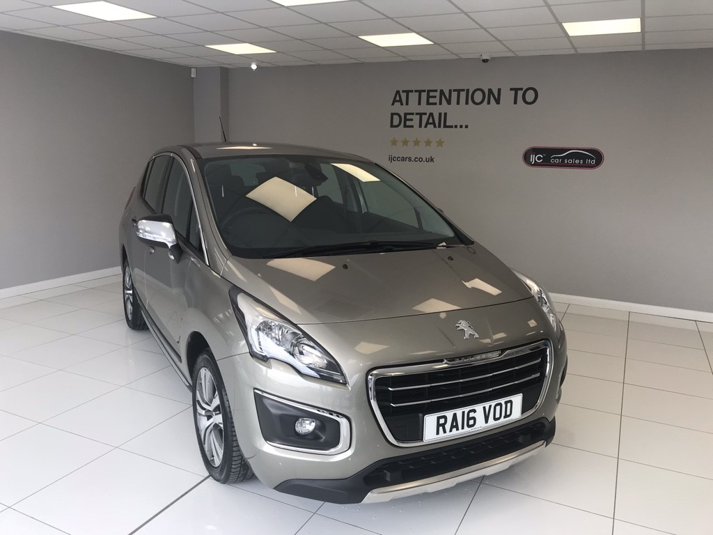 used Peugeot 3008 BLUE HDI S/S ACTIVE, JUST 1,377 MILES!! in louth-lincolnshire