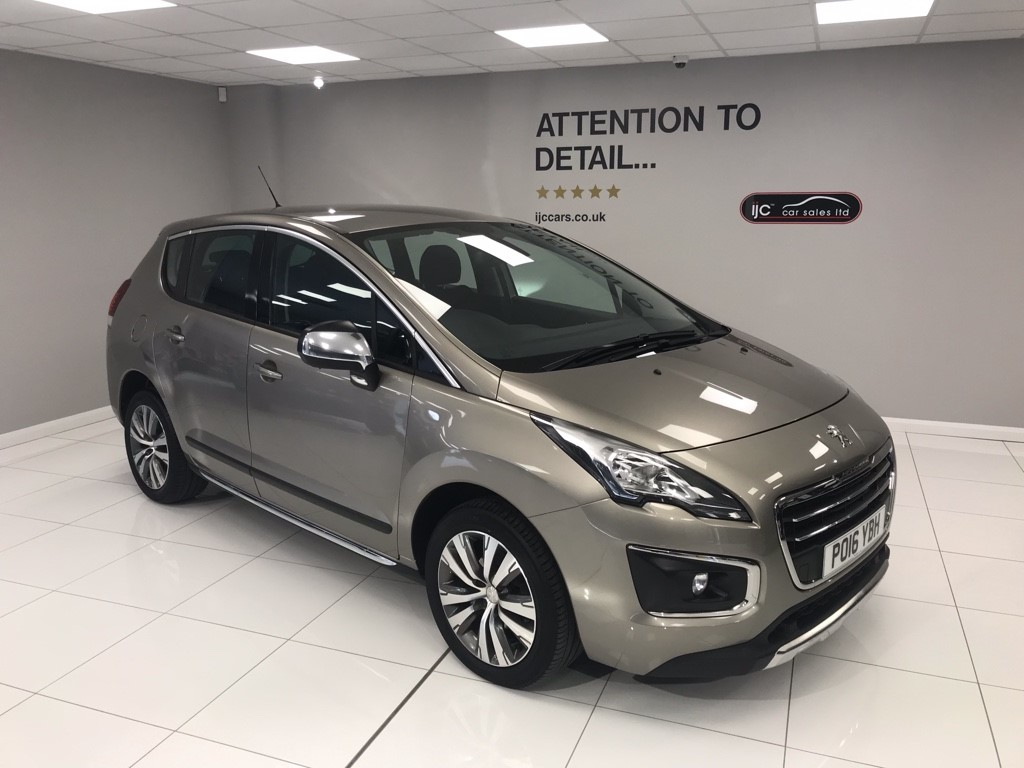 used Peugeot 3008 1.6 DIESEL AUTOMATIC ACTIVE in louth-lincolnshire