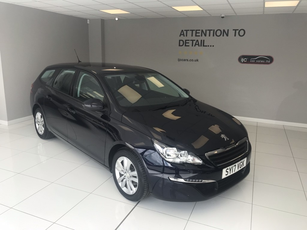 used Peugeot 308 1.2 PETROL SW ACTIVE AUTOMATIC, JUST 1,688 MILES!! in louth-lincolnshire