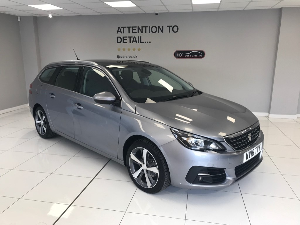 used Peugeot 308 S/S SW ALLURE PETROL AUTO ESTATE WITH JUST 378 MILES! SATNAV, PANORAMIC ROOF in louth-lincolnshire