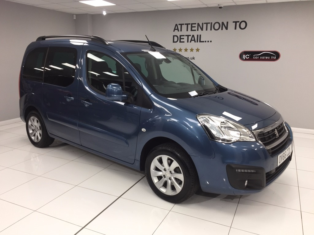 used Peugeot Partner Tepee BLUE HDI S/S TEPEE ALLURE �20 ROAD TAX in louth-lincolnshire
