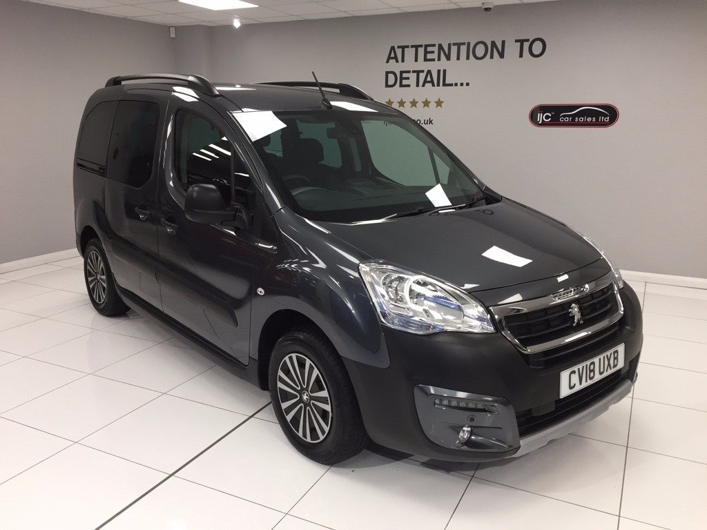 used Peugeot Partner Tepee 1.6 BLUE HDI S/S TEPEE OUTDOOR automatic in louth-lincolnshire