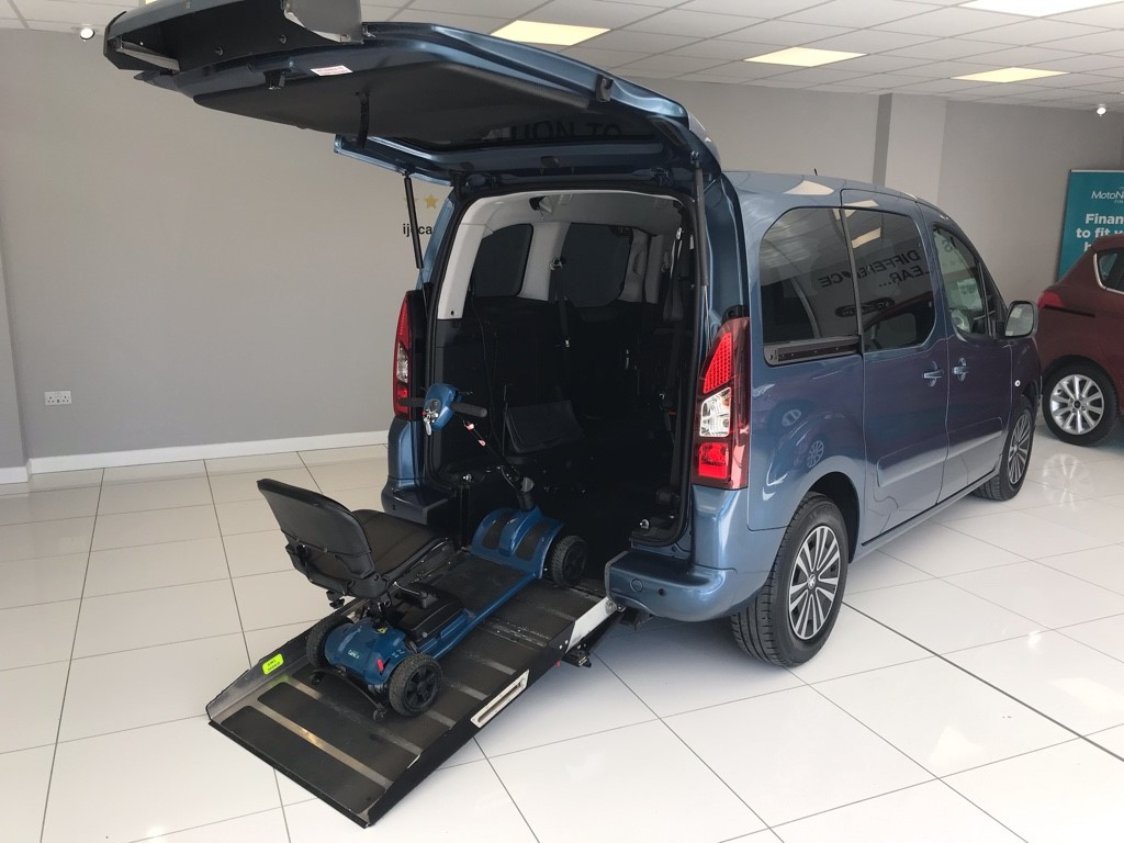 used Peugeot Partner Tepee E-HDI TEPEE S AUTO WAV in louth-lincolnshire