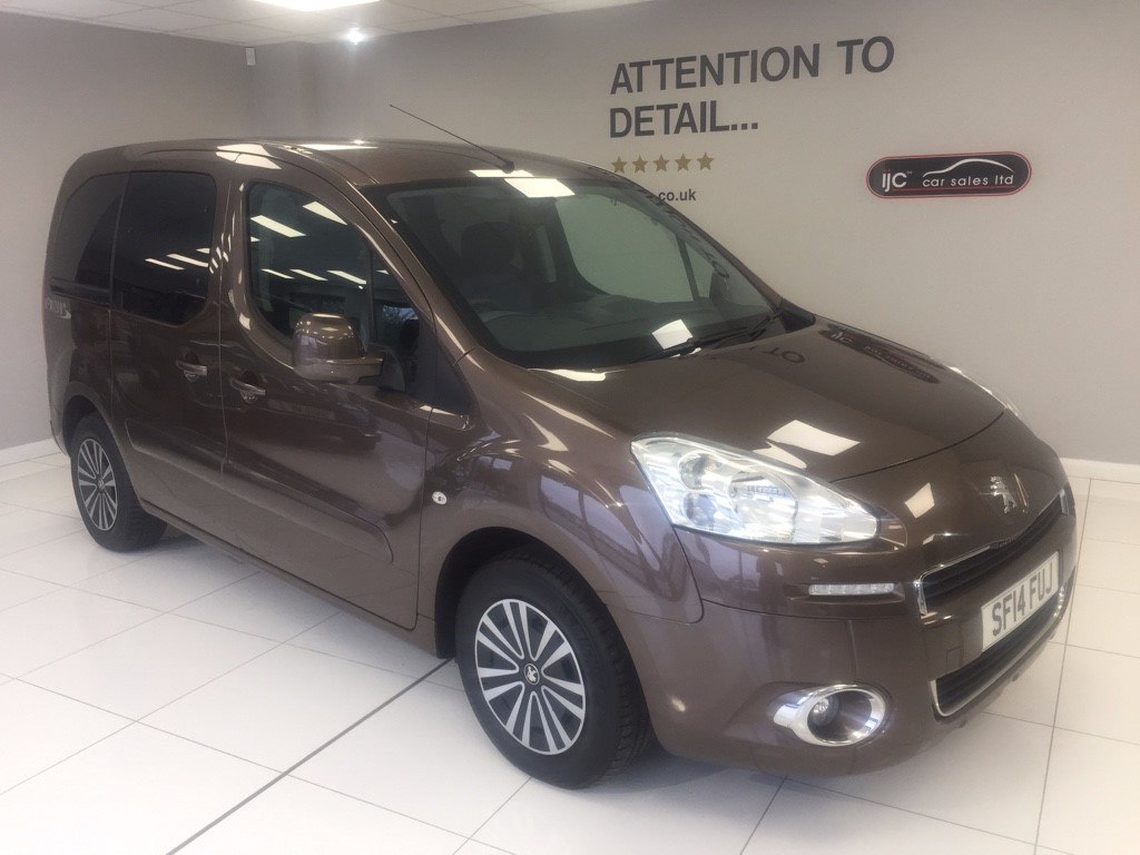 used Peugeot Partner Tepee Rare petrol Wheelchair adapted MPV in louth-lincolnshire