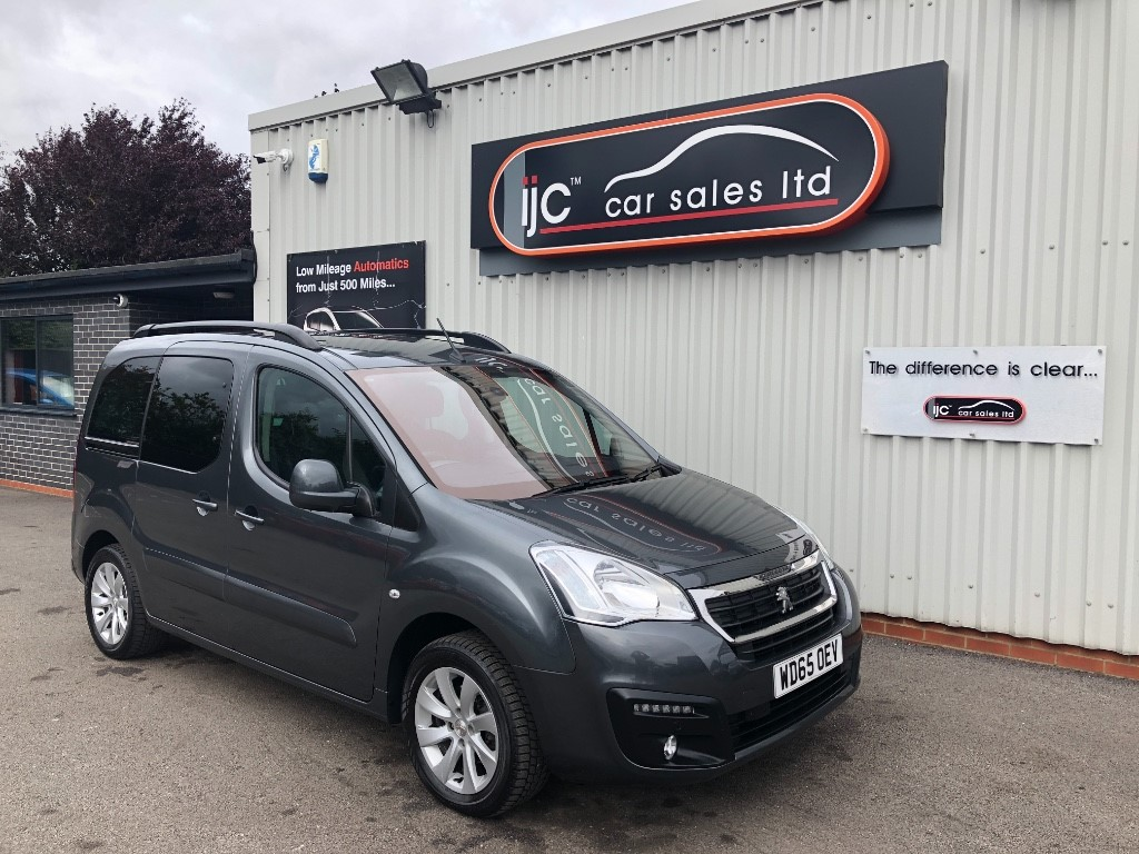 used Peugeot Partner Tepee BLUE HDI S/S TEPEE ALLURE DIESEL MANUAL in louth-lincolnshire