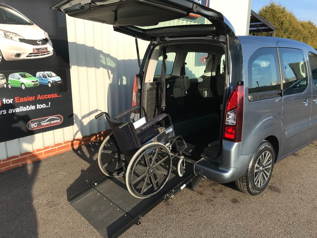 used Peugeot Partner Tepee WHEELCHAIR ADAPTED WAV in louth-lincolnshire